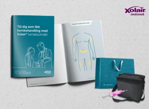 Patientkit för hemadministrering av Xolair vid svår allergisk astma